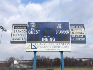 Thanks to CBCCU for New Scoreboards!