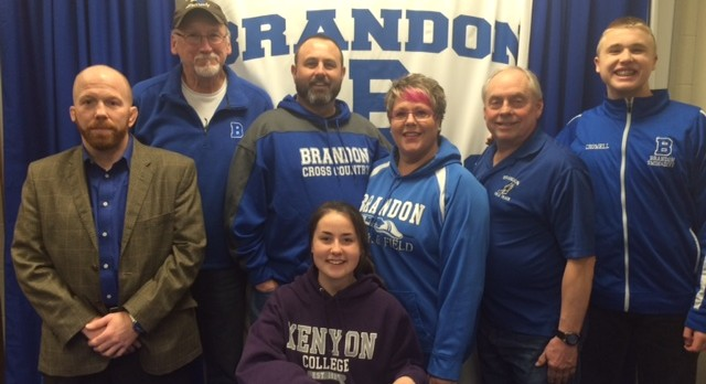 Scout Crowell signs with Kenyon College!