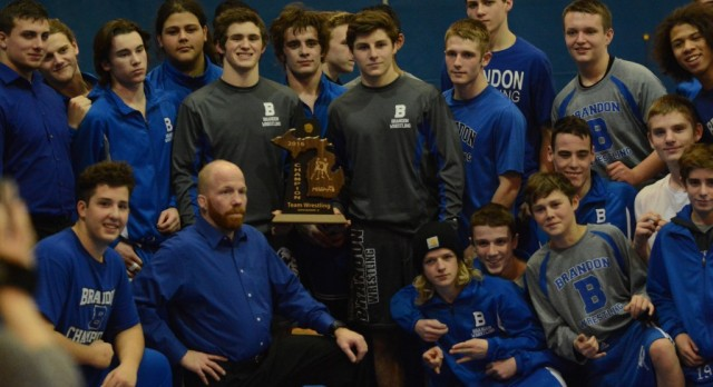 Brandon Wrestling- District Champions