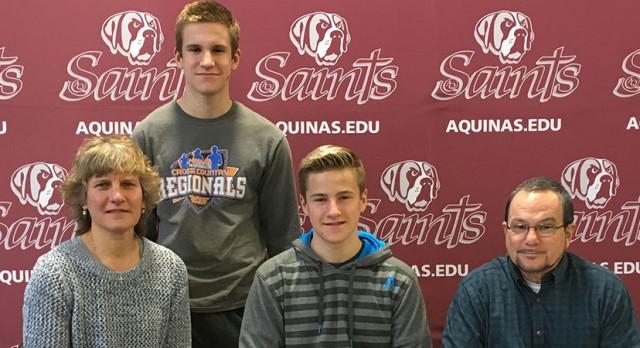 Brandon Senior Eddy Kaleel signs with Aquinas College!