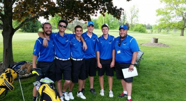Brandon Golf Qualifies for MHSAA Regionals!