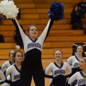 Pom Pon Halftime Basketball game 2017-01-06 Photo Gallery