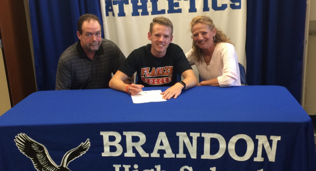Brendan O'Shea Signs with Flagler College to Play Soccer