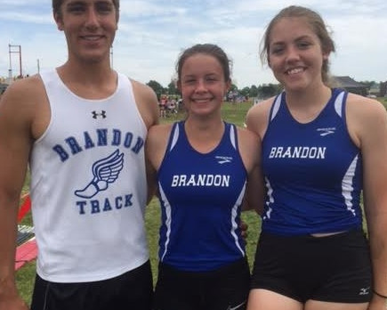 Tews, Pierce and Kilyk Place at Track State Finals