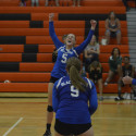 Varsity Volleyball 3-2 win over Clio 2017-10-03 Photo Gallery