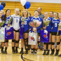 Varsity Volleyball Senior Night vs Waterford Mott 2017-10-19 Photo Gallery