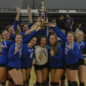 Varsity Volleyball wins Bloomfield Hills Tournament 2017-10-21 Photo Gallery