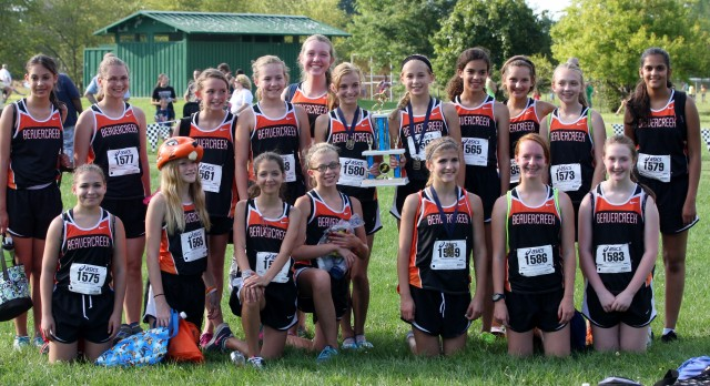 MS Cross Country Having Success!