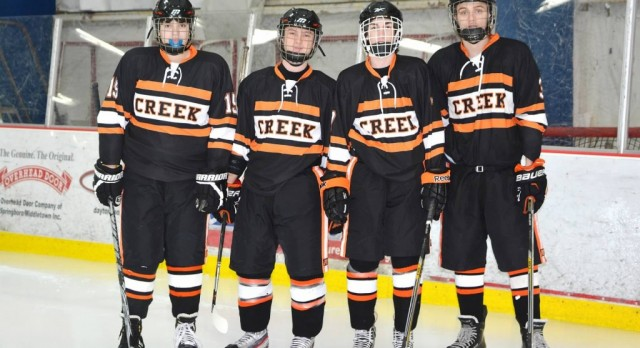 Creek Hockey Ends Season with Loss to Troy
