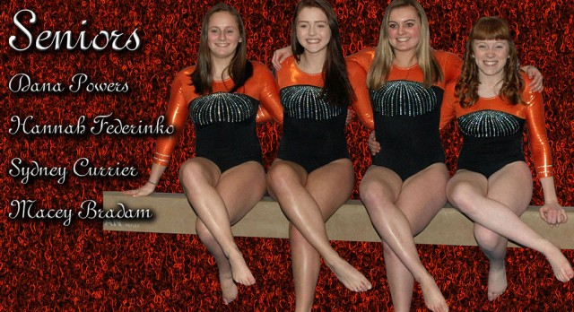 Gymnastics:  Senior Night Video