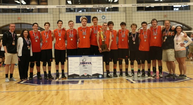 MEN'S VOLLEYBALL STATE RUNNER-UP