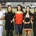 Varsity Soccer Cheerleaders Senior Night – 10-6-16