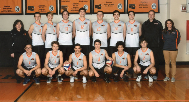 Men's Volleyball starting season strong