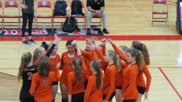 2017Beavercreek Girls JV Volleyball vs Tippecanoe