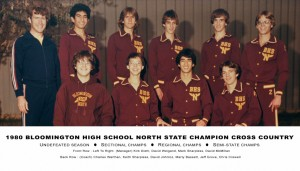 1980 Cross Country State Champs