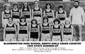 Cross Country 1982 Runner Up