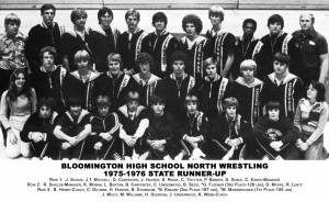 Wrestling 1976 Runner Up