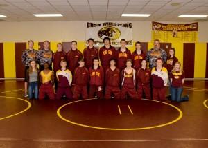 Wrestling Seniors JV