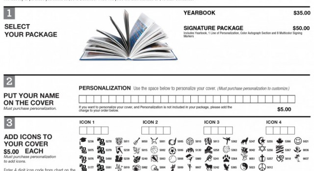 Yearbook Order Forms Due Dec. 11th