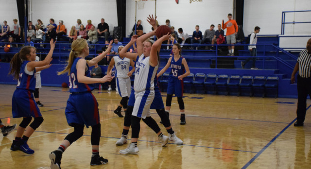 JH Lady Tigers Fall to Bobcats