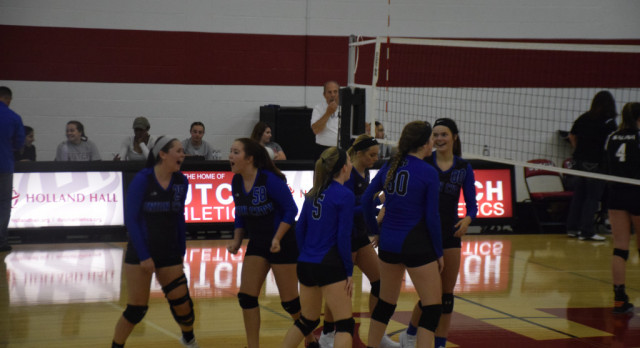 Lady Tigers Fight To The Finish