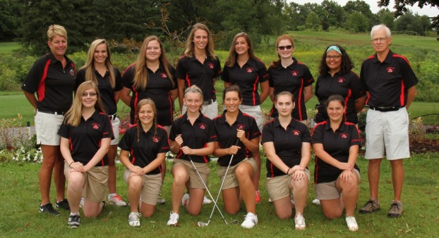Golfers Finish 15th at State
