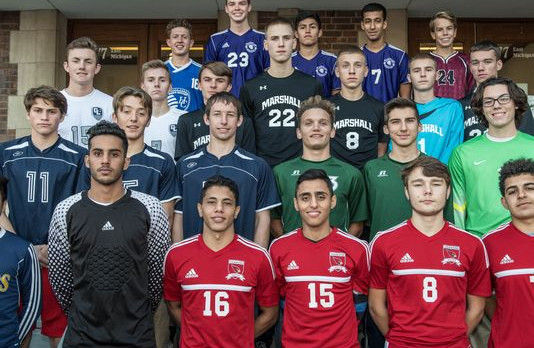 All-Area Soccer and Coach of the Year