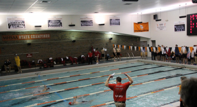 Boys Swim Team Undefeated in Dual Meets