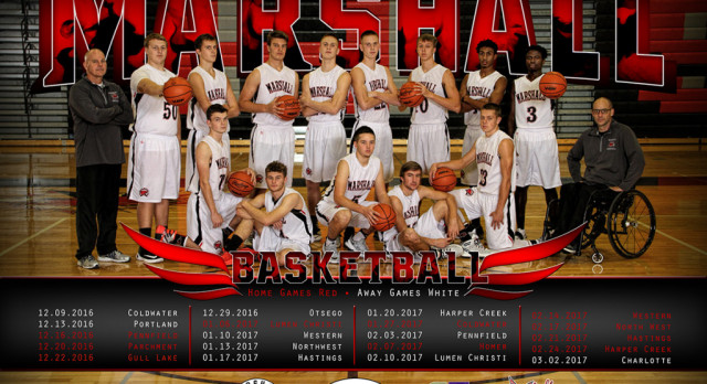 Boys Basketball Districts @ Parchment