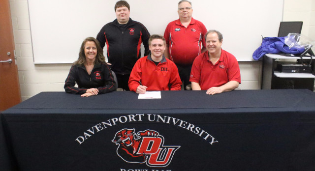 Brisson to Bowl at Davenport University