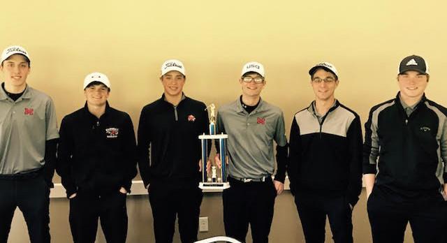 Golf Team Wins Harper Creek Invite