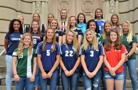 Marshall Soccer Leads All-Area Team