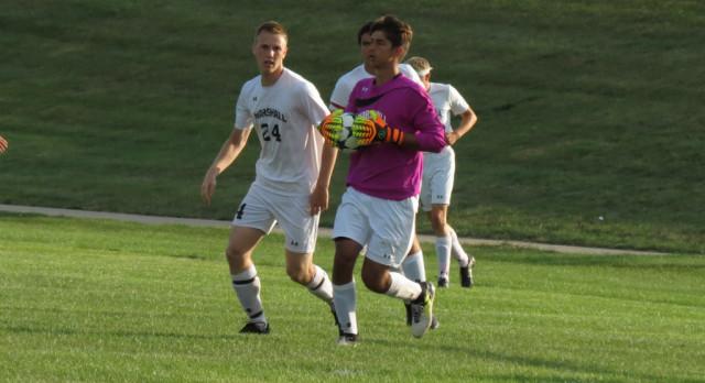 Marshall High School Boys Varsity Soccer beats Western 2-1