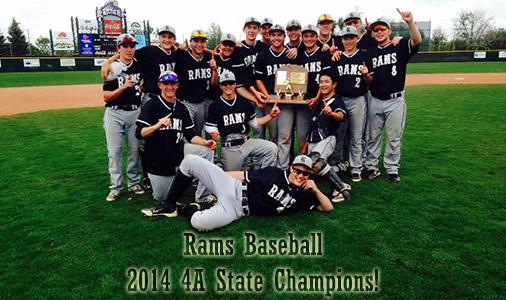 Baseball State Champs 2014!