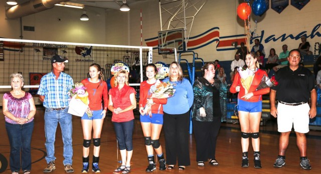 Varsity Volleyball Senior Night 10-18-16- Photo Gallery