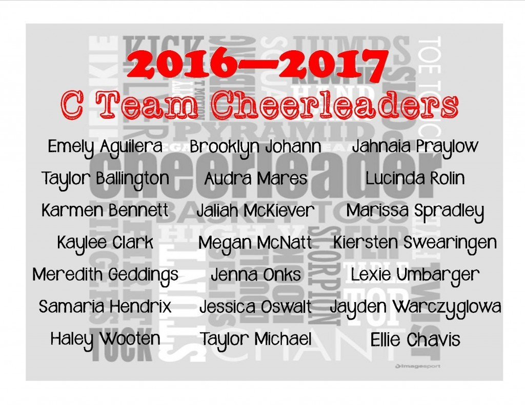 C Team Cheer