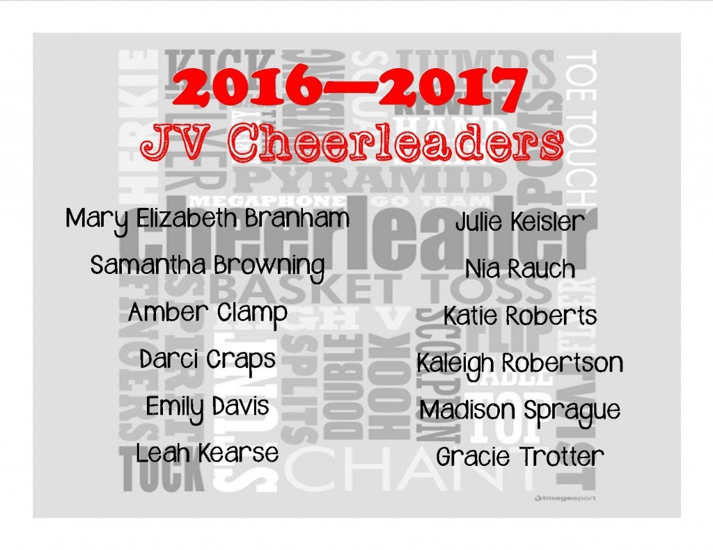 JV Cheer