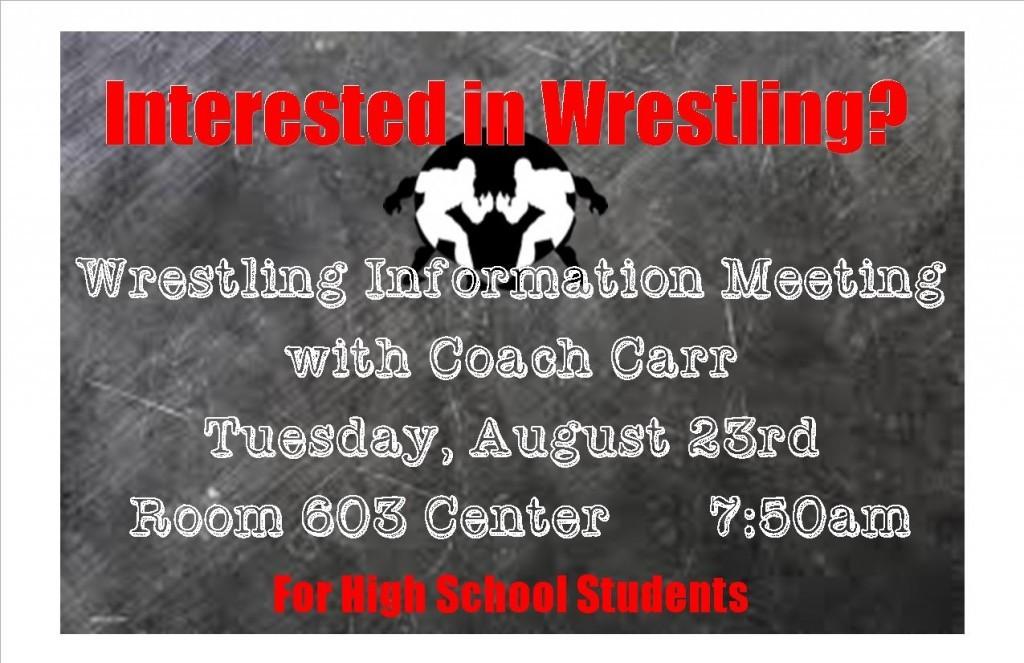 Wrestling Meeting