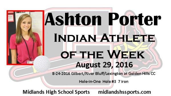 Ashton Porter Athlete of the Week