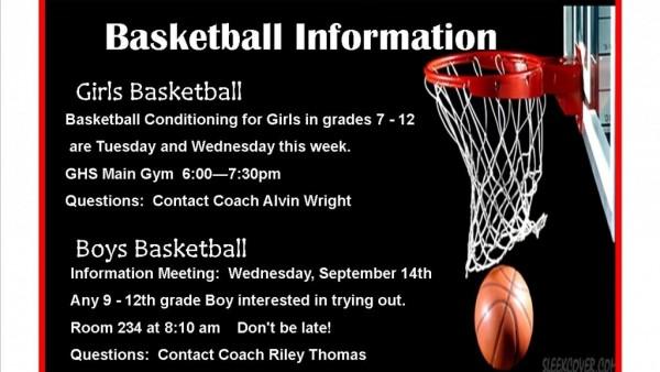 Basketball 9 12