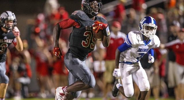 Catriez Cook North South All Star Football
