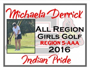 Michaela Derrick All Region