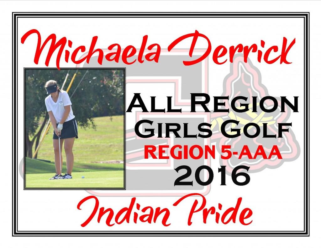 Michaela Derrick All Region