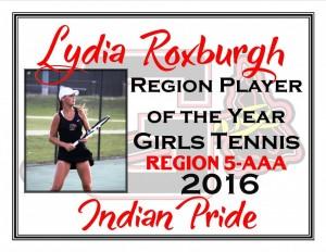Lydia Roxburgh Reg POY