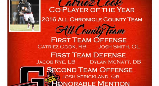 Chronicle All County Team 2016