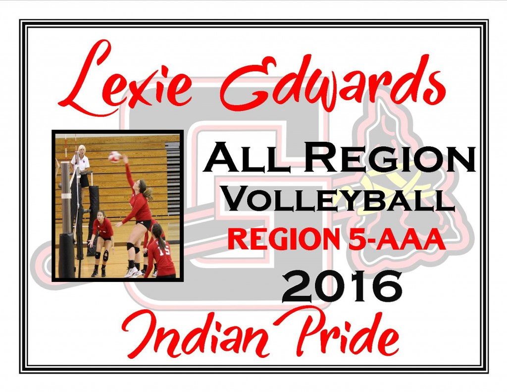 Lexie Edwards All REgion