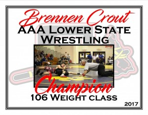 Brennen Crout Lower State Champ