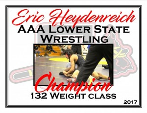 Eric Heydenreich Lower State Champ