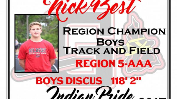N Best Region Champ Discus