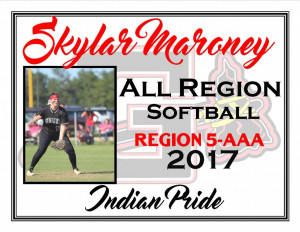 skylar maroney all region